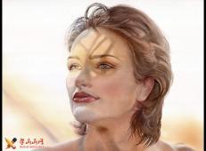37幅人物水彩画图片欣赏