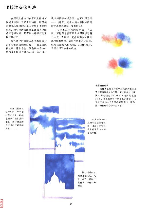 水彩画技法:光感的表现方法(1)