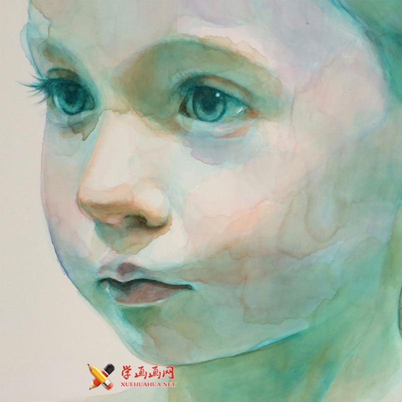 水彩画欣赏:Ali Cavanaugh笔下的儿童(2)