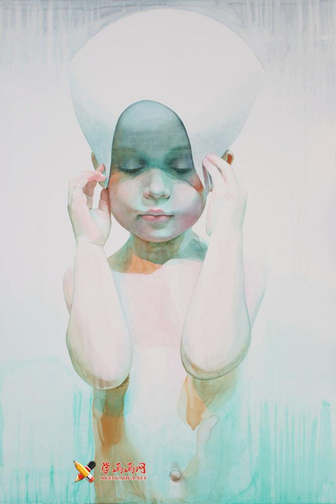 水彩画欣赏:Ali Cavanaugh笔下的儿童(4)