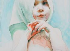 水彩画欣赏:Ali Cavanaugh笔下的儿童
