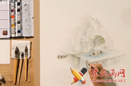 水彩画自学视频教程全集在线观看(1)