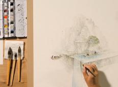 水彩画自学视频教程全集在线观看