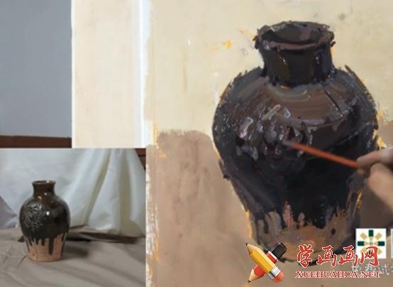 水粉画教程:色彩静物的画法(1)