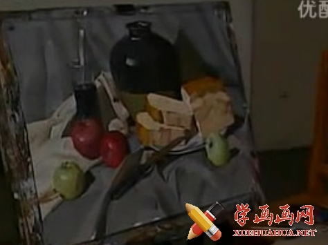 视频:郭振山静物水粉画教程下集(1)