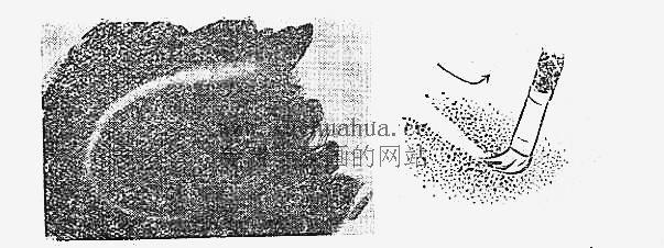 水粉画入门教程:水粉画的用笔方法(9)
