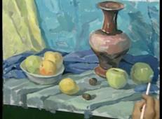 美术高考视频教学:水粉静物画法