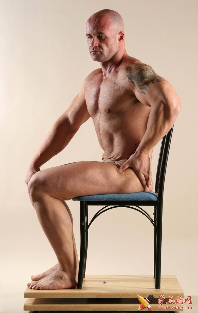 人体艺术摄影《男人体结构》(1)