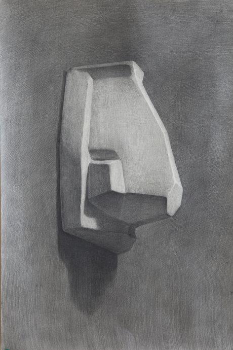 素描石膏像鼻子作品欣赏(4)