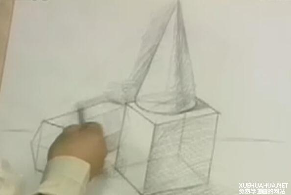 素描几何体教程