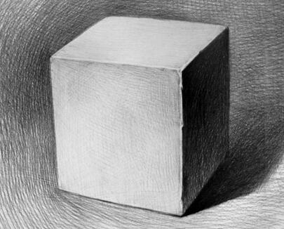 素描几何体的画法教程
