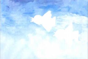 小鸟水粉画步骤1.jpg