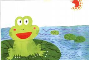 学画儿童画教程 可爱小青蛙