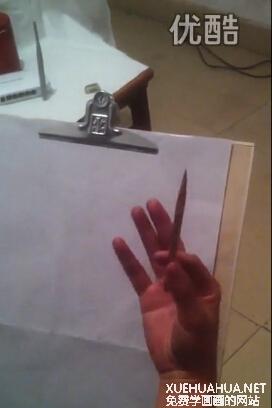 素描排线方法