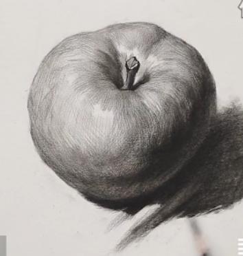 素描入门教程:怎么画苹果详细步骤(12)