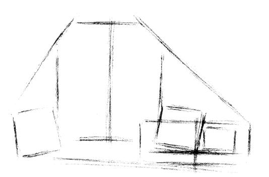 素描入门:石膏几何体的画法及注意事项(1)