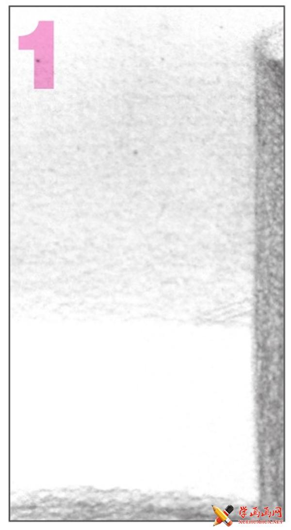 素描入门教系列程:素描几何体圆柱体的画法步骤(10)