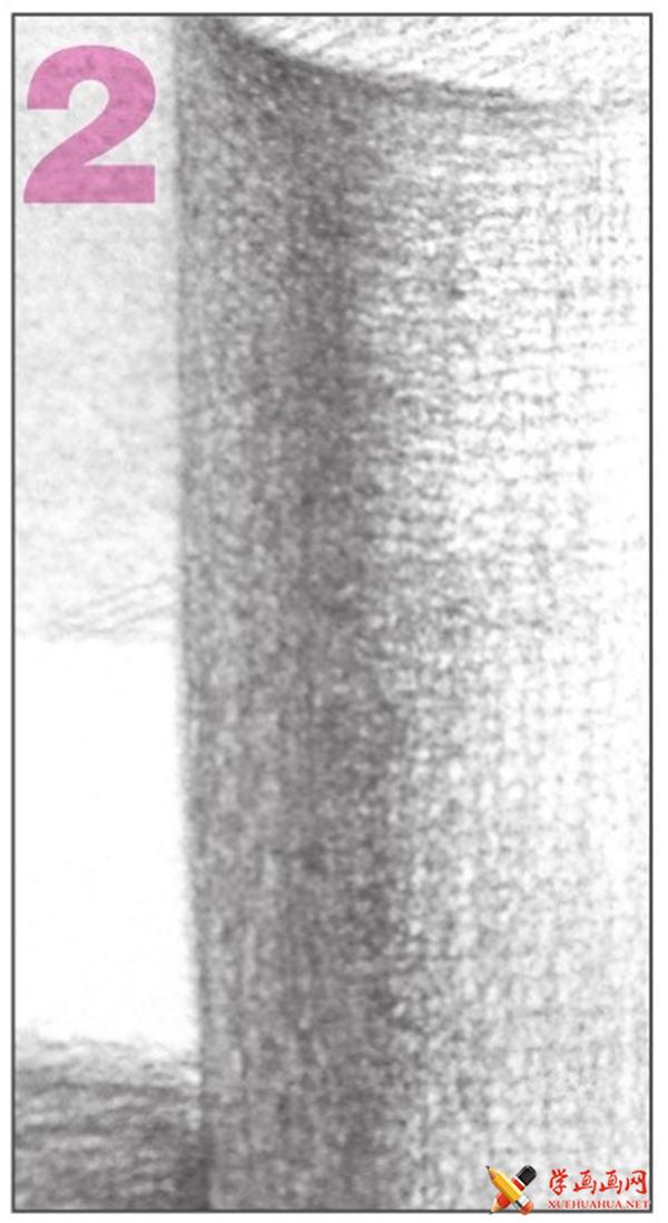素描入门教系列程:素描几何体圆柱体的画法步骤(11)