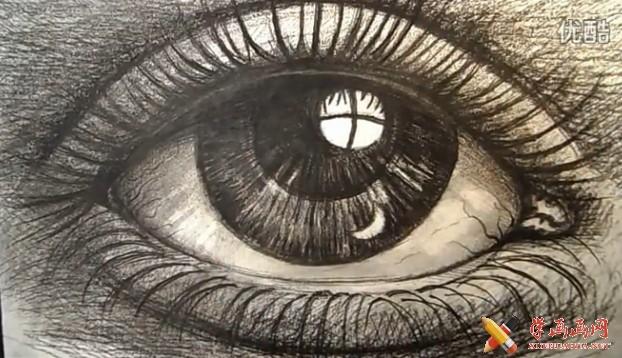怎么画好素描眼睛