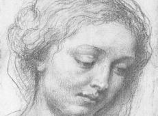 艺术巨匠鲁本斯人物素描画2张【大图】