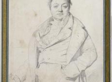 安格尔素描《画家查尔斯戴维宁》.jpg