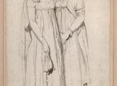 亨丽埃特·哈维和她同父异母的妹妹伊丽莎白·诺顿素描.jpg
