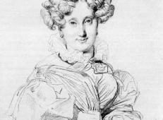 安格尔素描头像《路易·弗朗索瓦夫人》.jpg