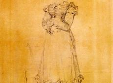 安格尔高清画作《路易·勒布朗夫人》.jpg