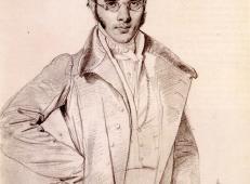 安格尔素描《安德烈·伯努瓦素描》.jpg
