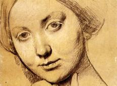 安格尔《霍松维勒女伯爵》素描稿.jpg