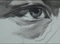 素描眼睛画法视频教程