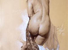 意大利画家Roberto Ferri人体素描作品欣赏