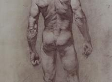 巴西画家Gilberto Geraldo人物素描作品欣赏