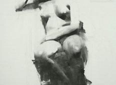 美国画家Mark.Tennant人体光影结构素描画 (68).jpg