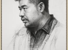 视频:北京传奇画室李昊泽3/4侧男青年素描教程