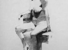 美国画家Mark.Tennant人体光影结构素描画 (91).jpg