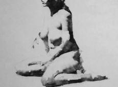 美国画家Mark.Tennant人体光影结构素描画 (93).jpg