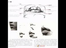 素描嘴的画法步骤分解及各角度素描嘴的画法范画图片大全 (24).jpg