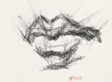 素描嘴的画法步骤分解及各角度素描嘴的画法范画图片大全 (13).jpg