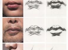 素描嘴的画法步骤分解及各角度素描嘴的画法范画图片大全 (25).jpg