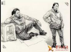中国美院优秀速写作品7张