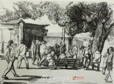 2015年中国美术学院速写高分卷