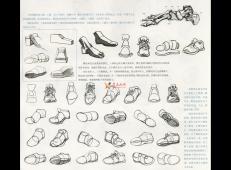 人物速写:鞋子的画法及各角度鞋子的速写画法临摹图片范画