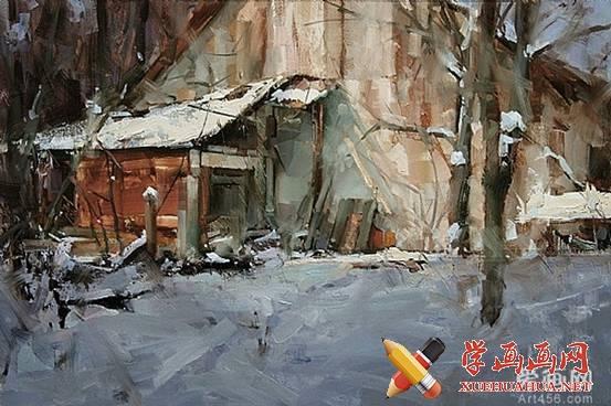 Tibor Nagy印象派风景油画欣赏(1)