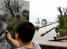 孟涛风景油画写生视频
