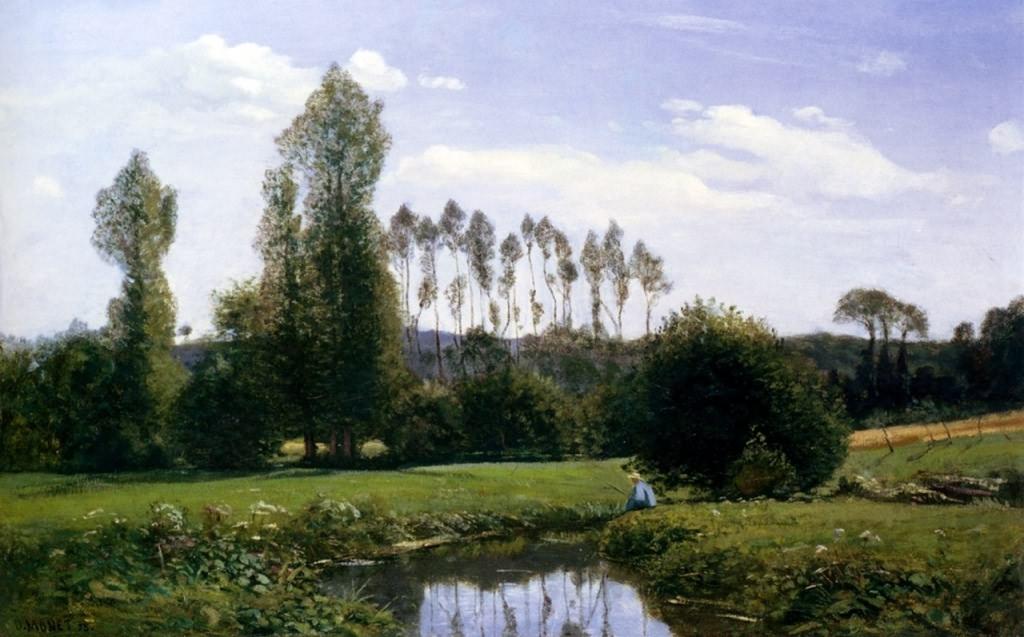 油画《鲁昂·勒阿弗尔》(1)