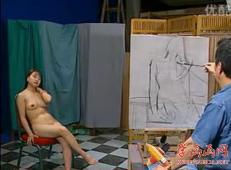 女人体油画入门视频教学
