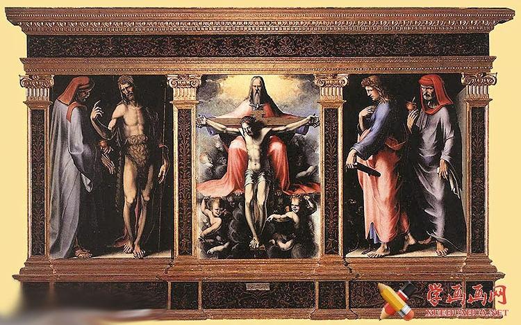 Domenico di Pace Beccafumi作品大全(1)