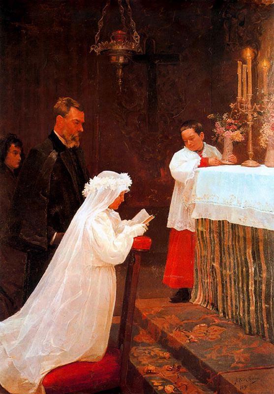 毕加索16岁时的三幅油画作品(1)