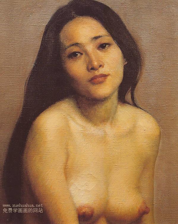 靳尚谊女人体油画作品精选(2)